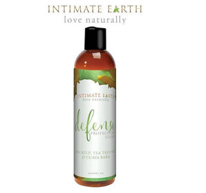 Intimate Earth Defense Protection Water-Based Lubricant 60ml & 120ml Lubes & Toys Cleaners - Natural & Organic Intimate Earth