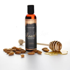 Intimate Earth Massage Oil Honey Almond or Bloom Peony Blush 120 ML 4 FL OZ For Us - Sexy Massage Intimate Earth Honey Almond