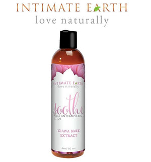 Intimate Earth Soothe Water-based Anal Lube 60 ml or 120 ml Lubes & Toys Cleaners - Natural & Organic Intimate Earth