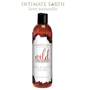 Intimate Earth Wild Cherries Oral Pleasure Glide Lubes & Cleaners - Flavoured Lubes Intimate Earth