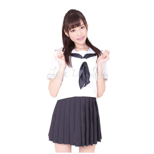 Japan A&T Kami High School Special Summer Uniform M Size For Her - Women's Sexy Wear A&T