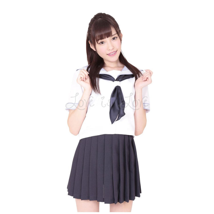 Japan A&T Kami High School Special Summer Uniform M Size