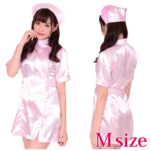 Japan A&T Nomination Nurse Pink Costume M Size For Her - Women's Sexy Wear A&T