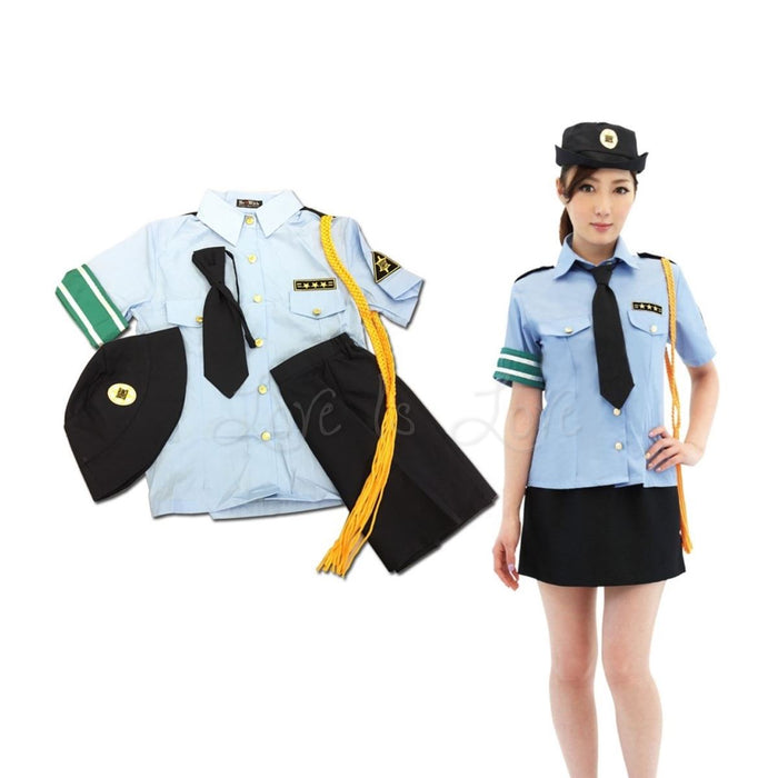Japan BeWith Police Officer Costume M Size
