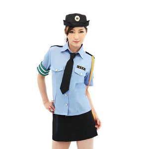 Japan BeWith Police Officer Costume M Size For Her - Women's Sexy Wear Be With