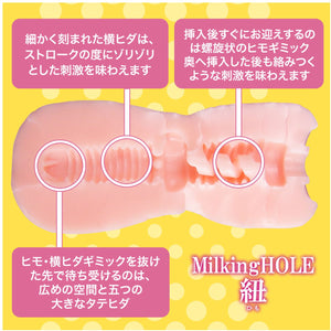 Japan SSI DNA Milking Hole String (Newly Replenished)(Milking Hole Series Best Seller) Male Masturbators - Japan Handheld SSI Japan