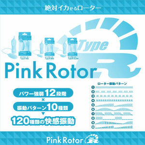 Japan SSI Pink Rotor Type R Mini CC Blue Vibrators - Bullet & Egg SSI Japan