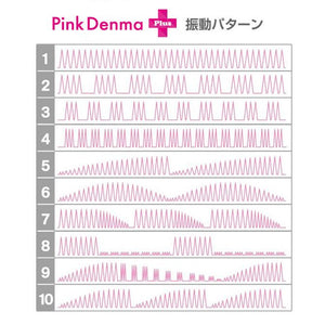 Japan SSI Wild One Pink Denma 2 Plus Vibebar Edition Wand Pink Vibrators - Wands & Attachments NPG