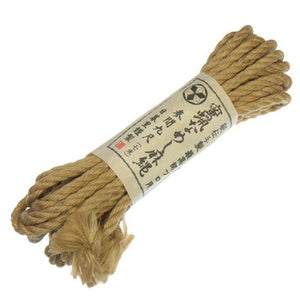 Japanese Hemp Bondage Rope 7 Meters 6 MM Thick Bondage - Ropes & Tapes NPG