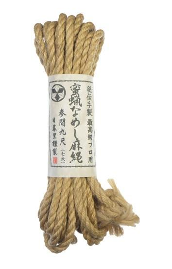 Japanese Hemp Bondage Rope Highest Quality 7 Meters 6 MM Thick