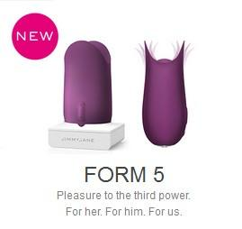 JimmyJane Form 5 - Created Specifically For Labial And Frenulum Stimulation (Overstock Sale)