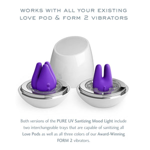 JimmyJane Pure UV Sanitizing Mood Light Love Pods Tre Edition Award-Winning & Famous - Jimmyjane JimmyJane