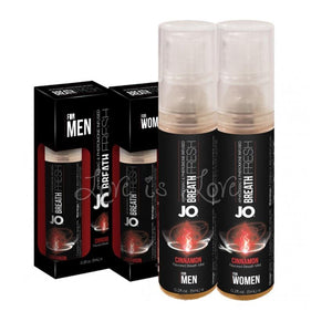 JO Breath Fresh Cinnamon For Men (Last Piece) Or Women (Limited Stock) Enhancers & Essentials - Drive Boosters & Potions System JO