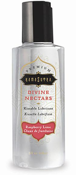 Kama Sutra Divine Nectars Raspberry Lime Water-Based Flavoured Body Glide For Us - Sexy Massage Kama Sutra