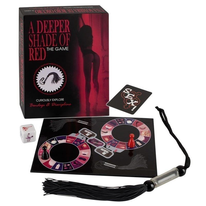 Kheper Games A Deeper Shade of Red Bondage Board Game