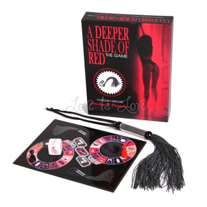 Kheper Games A Deeper Shade of Red Bondage Game Gifts & Games - Intimate Games Kheper Games