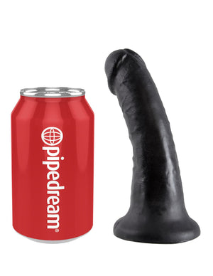 King Cock 6 Inch Cock Black or Flesh Dildos - King Cock Dildos King Cock