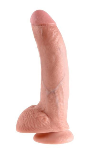 King Cock 9 Inch Cock with Balls Flesh Dildos - King Cock Dildos King Cock