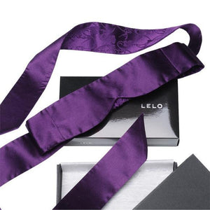 Lelo Intima Silk Blindfold Red or Purple or Black Award-Winning & Famous - Lelo Lelo Purple