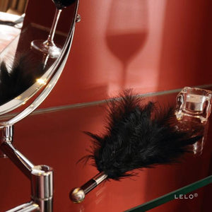 Lelo Tantra Feather Teaser Red or Black or Purple Award-Winning & Famous - Lelo Lelo
