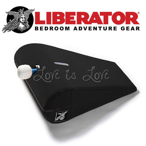 Liberator Axis Magic Wand Toy Mount (Velvish Midnight) For Us - Sex Furniture Liberator