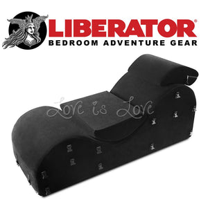 Liberator Black Label Esse (Microfiber Black) For Us - Sex Furniture Liberator