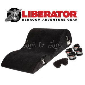 Liberator Black Label Hipster (Microfiber Black) For Us - Sex Furniture Liberator