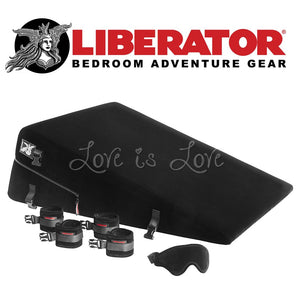 Liberator Black Label Ramp (Microfiber Black) For Us - Sex Furniture Liberator