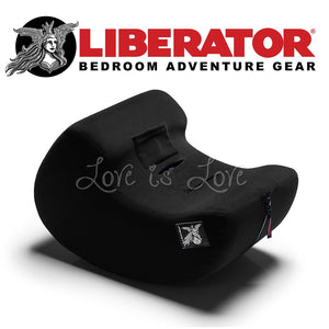 Liberator Pulse Toy Mount (Black) For Us - Sexual Positioning Liberator