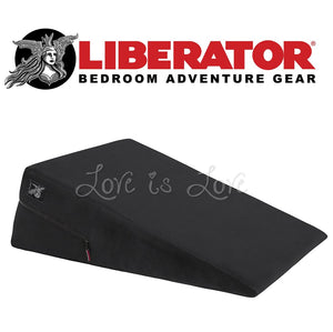 Liberator Ramp (Microfiber Black) For Us - Sex Furniture Liberator