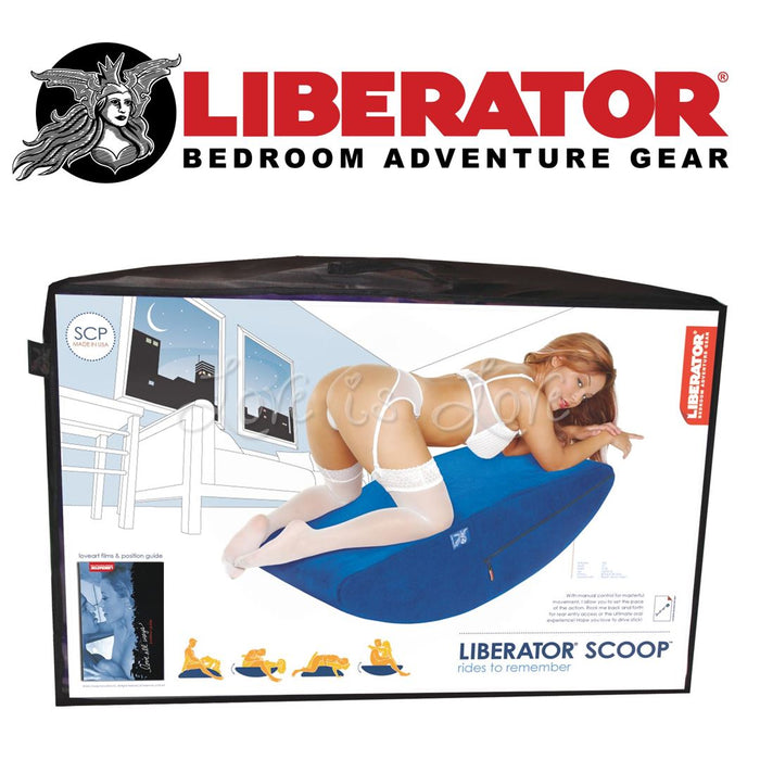 Liberator Scoop Blue (Available only at Geylang store)[Clearance]