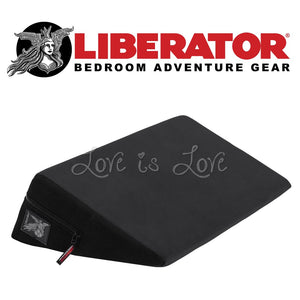 Liberator Wedge Microfiber Black (Newly Replenished on Jan 19) For Us - Sexual Positioning Liberator