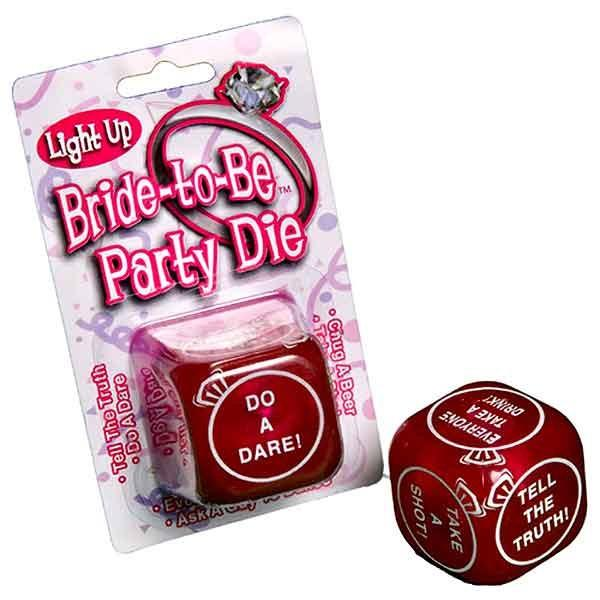 Light Up Bride-To-Be- Party Die