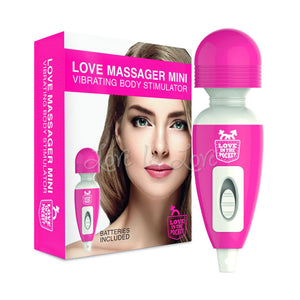 Love In The Pocket Love Massager Mini Vibrating Body Stimulator Vibrators - Cute & Discreet Love in the Pocket
