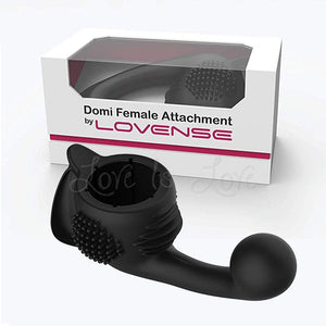 Lovense Domi Wand Female Attachment Black Vibrators - Wands & Attachments Lovense