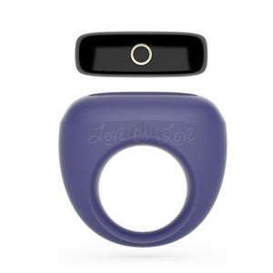 Magic Motion Dante Smart Wearable Ring Blue (App-Controlled New Item) Cock Rings - Vibrating Cock Rings Magic Motion