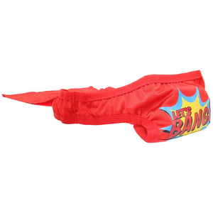 Male Power Let's Bang Superhero Thong Red For Him - Men's Intimate Wear Male Power