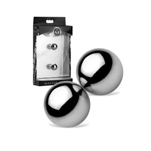 Master Magnus Mighty Magnetic Orbs Nipple Toys - Nipple Jewellery Master Series XL