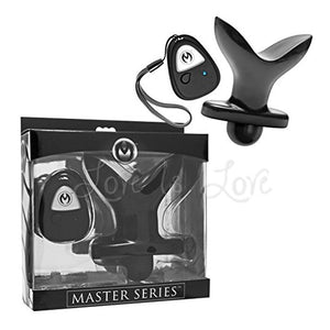 Master Series Ass Anchor Remote Control Vibrating Anal Plug Anal - Anal Vibrators Master Series