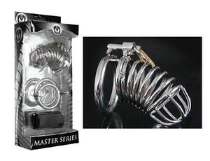 Master Series Bastille Penile Confinement Cage (New Jail House) For Him - Chastity Devices Master Series