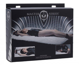 Master Series Ensnare Stretcher Restraint Set Bondage - Bedroom Bondage Kits Master Series