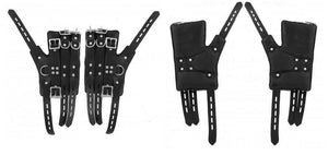 Master Series Heavy Duty Suspension Cuff Kit With Steel Bar Bondage - Ankle & Wrist Restraints Master Series