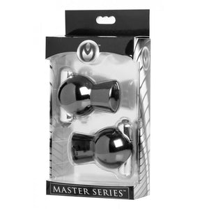 Master Series Reverb Vibrating Nipple Suckers (Newly Replenished on Apr 19) Nipple Toys - Nipple Suckers Master Series