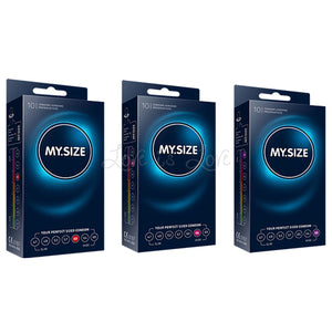 MY.SIZE Condoms 60 mm or 64 mm or 69 mm (Box of 10 pcs) Enhancers & Essentials - Condoms MY.SIZE