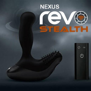 Nexus Revo Stealth Prostate Massager Award-Winning & Famous - Nexus Nexus Black