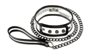 NS Novelties Bare Bondage Collar With Leash Bondage - Collars & Leash NS novelties