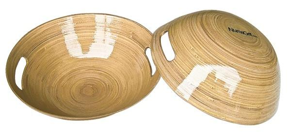Nuru Massage Premium 10 Inch Wood Bowl