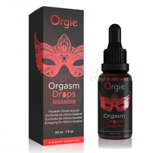 Orgie Orgasm Drops Kissable 30 ML 1 FL OZ Enhancers & Essentials - Aromas & Stimulants Orgie
