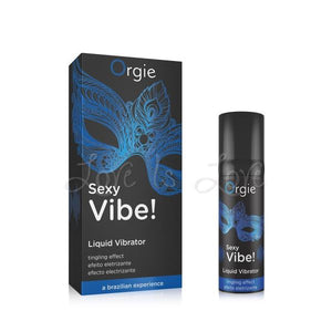 Orgie Sexy Vibe Liquid Vibrator Stimulating Gel 15 ML 0.5 FL OZ Enhancers & Essentials - Aromas & Stimulants Orgie