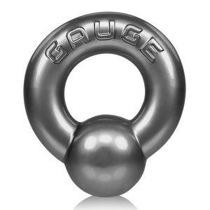 Oxballs Gauge Cock Ring Black or Steel ( Newly Replenished ) Cock Rings - Oxballs C&B Toys Oxballs Steel